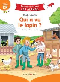 Claude Huguenin et Thomas Tessier - Qui a vu le lapin ? - Milieu CP.