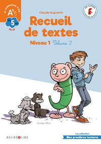 Claude Huguenin et Christophe Billard - Recueil de textes niveau 1 - Volume 2.