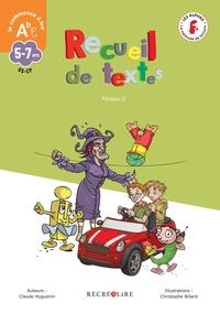 Claude Huguenin et Christophe Billard - Recueil de textes niveau 2.