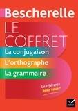 Claude Kannas et Adeline Lesot - Bescherelle Le coffret de la langue française - La conjugaison, L orthographe, La grammaire.