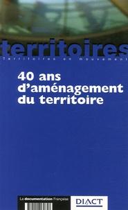 Claude Lacour et Aliette Delamarre - 40 ans d'aménagement du territoire.