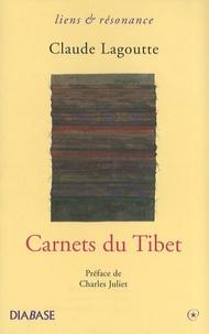 Claude Lagoutte - Carnets du Tibet.