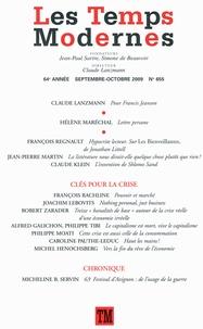 Claude Lanzmann - Les Temps Modernes N° 655, Septembre-Oc : .