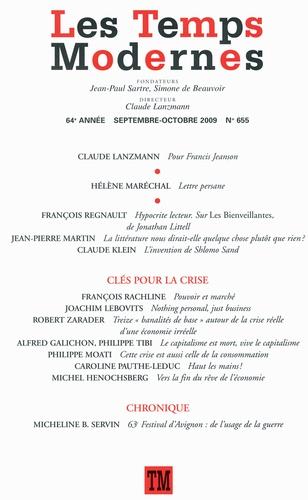 Les Temps Modernes N° 655, Septembre-Oc