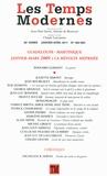 Claude Lanzmann - Les Temps Modernes N° 662-663, Janvier- : Guadeloupe-Martinique Janvier-Mars 2009 : La révolte méprisée.