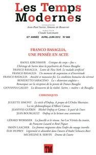 Claude Lanzmann - Les Temps Modernes N° 668, Avril-Juin 2 : .