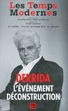 Claude Lanzmann - Les Temps Modernes N° 669/670, juillet- : Jacques Derrida - L'événement déconstruction.