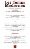 Claude Lanzmann - Les Temps Modernes N° 671, Novembre-Déc : .