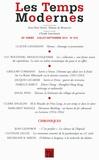Claude Lanzmann - Les Temps Modernes N° 679, juillet-sept : .