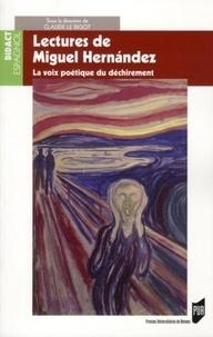 Lectures de Miguel Hernandez - La voix poétique du déchirement.pdf