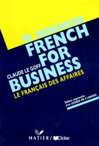 LE NOUVEAU FRENCH FOR BUSINESS. Le français des affaires.pdf
