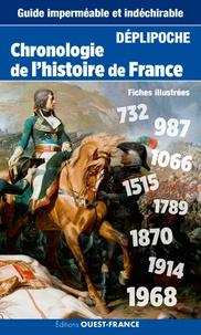 Claude Lebédel - Chronologie de l'histoire de France.