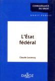 Claude Leclercq - L'État fédéral.