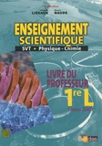 Claude Lizeaux et Denis Baude - Enseignement scientifique 1e L.