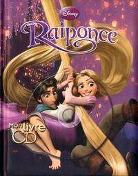 Claude Lombard - Raiponce, mon grand livre-cd. 1 CD audio