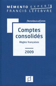 Claude Lopater et Anne-Lyse Blandin - Comptes consolidés - Règles françaises.