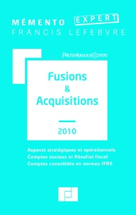 Claude Lopater et  PriceWaterhouseCoopers - Fusions & Acquisitions.