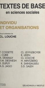 Claude Louche et  Collectif - Individu et organisations.