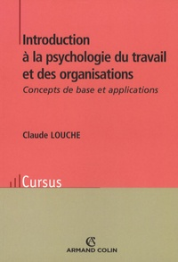 Deedr.fr Introduction à la psychologie du travail et des organisations - Concepts de base et applications Image