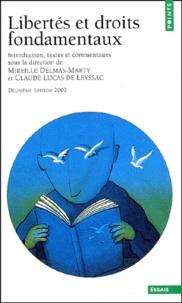Libertés et droits fondamentaux. Edition 2002 - Claude Lucas de Leyssac |
