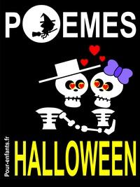 Claude Marc - Poèmes d'Halloween - Pour enfants. Vampires, sorcières et fantômes sont au rendez-vous dans ce petit livre de poésie sur le thème d'Halloween. En compagnie de crapauds et autres squelettes. Avec l'idée de mourir de rire, pas de peur..