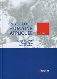 Claude Martin et Bruno Riou - Physiologie humaine appliquée.