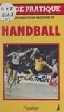 Claude Maxant et José Borquez - Handball.