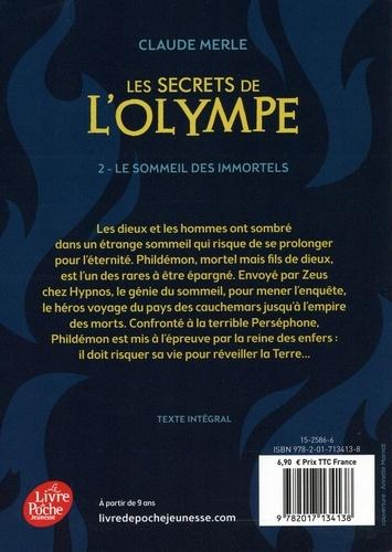 Les secrets de l'Olympe Tome 2 Le sommeil des immortels