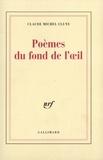 Claude Michel Cluny et Didier Erasme - Poèmes du fond de l'oeil - Lettres d'Erasme sur les songes.