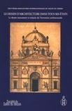 Claude Mignot - Le dessin d'architecture dans tous ses états - Tome 1, Le dessin instrument et témoin de l'invention architecturale.