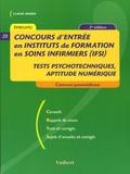 Claude Minière - Concours d'entrée en Instituts de formation en soins infirmiers (IFSI).