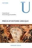 Claude Mossé et Annie Schnapp-Gourbeillon - Précis d'histoire grecque - Du début du deuxième millénaire à la bataille d'Actium.