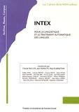 Claude Muller et Jean Royauté - INTEX pour la linguistique et le traitement automatique des langues.