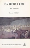 Claude Nicolet et  Collectif - .