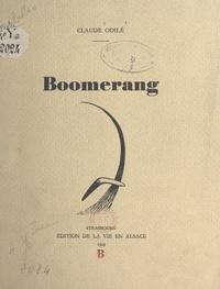 Claude Odilé - Boomerang.
