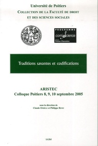 Claude Ophèle et Philippe Remy - Traditions savantes et codifications.
