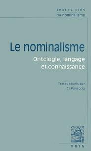 Claude Panaccio - Le nominalisme - Ontologie, langage et connaissance.