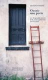 Claude Paradis et Yves Laroche - Ouvrir une porte - sur dix grandes oeuvres de la poésie québécoise du XXe siècle.