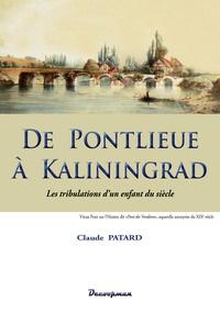 Histoiresdenlire.be De Pontlieue à Kaliningrad - Les tribulations d'un enfant du siècle Image
