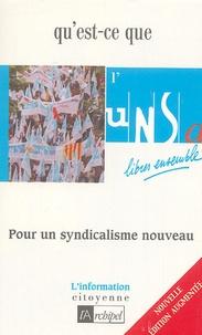 Claude Perrotin - Qu'est-ce que l'UNSA ?.
