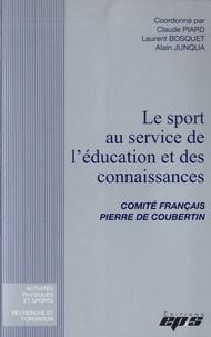 Claude Piard et Laurent Bosquet - Le sport au service de l'éducation et des connaissances - Comité français Pierre de Coubertin.