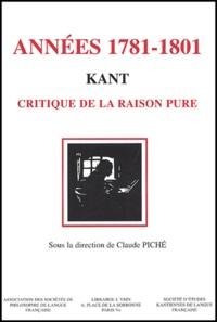 Deedr.fr Années 1781-1801. - Kant, critique de la raison pure Image