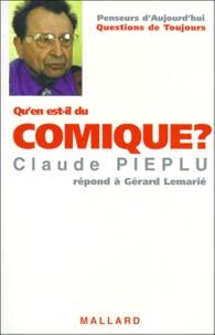Claude Piéplu et Gérard Lemarié - Qu'en est-il du comique ? - Claude Piéplu répond à Gérard Lemarié.