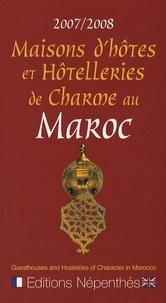 Claude Poirier - Maisons d'hôtes et Hôtelleries de Charme au Maroc.