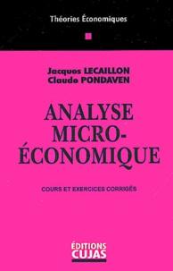 Claude Pondaven et Jacques Lecaillon - .