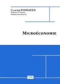Claude Pondaven - Microéconomie.