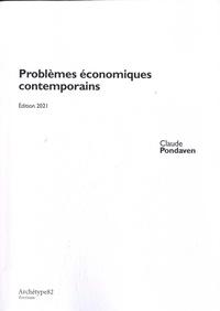 Claude Pondaven et Aimé Scannavino - Problèmes économiques contemporains - Cours L1.