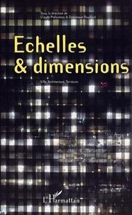 Claude Prelorenzo - Echelles, dimensions : architecture, ville, territoire.