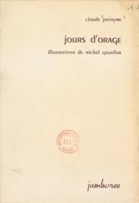 Claude Préryme et Michel Gourlier - Jours d'orage.