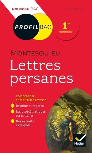 Lettres persanes, Montesquieu. Bac 1ère générale